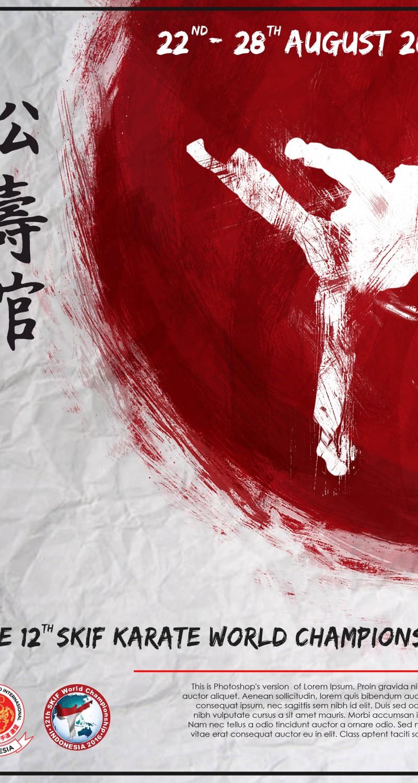 SKIF Poster Red Background